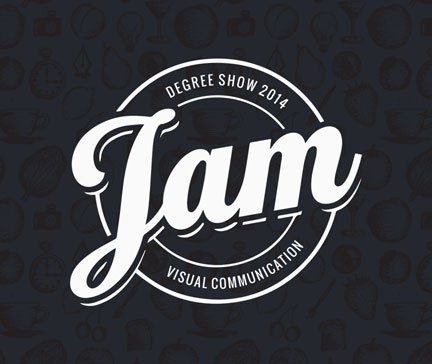 JAM 2014 – Design Exhibition Branding